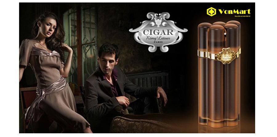 Nước hoa Cigar Remy Latour Lounge, sang trọng, nam tính, thơm lâu, mạnh mẽ, đẳng cấp