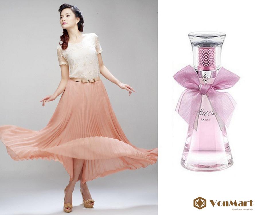 Nước hoa Lomani Attractive Eau De Parfum 100ml, nữ tính, nhẹ nhàng, thanh lịch, quyến rũ
