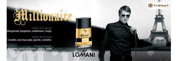 Nước Hoa Nam Lomani Ab Spirit, Millionaire Men, thơm lâu, sang trọng, quyến rũ, lịch lãm