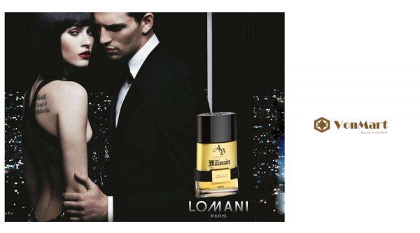 Nước Hoa Nam Lomani Ab Spirit Millionaire Men, nước hoa Pháp, chính hãng tại Hà Nội