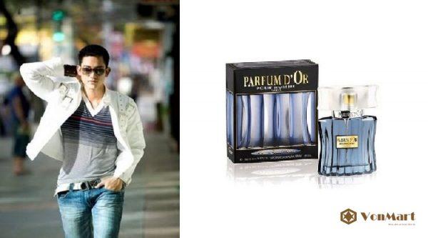 Nước hoa nam Parfum d'Or Pour Homme Eau de Toilette 100ml, Nước hoa Pháp, cao cấp