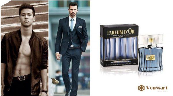 Nước hoa nam Parfum d'Or Pour Homme, Kristel Saint Martin Nam tính, mạnh mẽ, cuốn hút