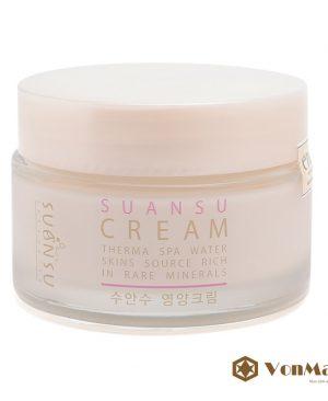 Kem dưỡng trắng da Suansu Cream, chính hãng mỹ phẩm Enesti, dưỡng da trắng mềm, tươi sáng