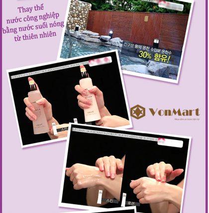 Nước hoa hồng Enesti, Suansu Toner 150ml, dưỡng da sạch, sáng, khỏe, mềm mịn, se khít