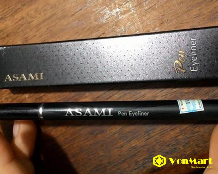 Bút kẻ mắt nước Asami Pen Eyeliner, kẻ sắc nét, nhấn đường mi, cho đôi mắt đẹp, sâu hơn