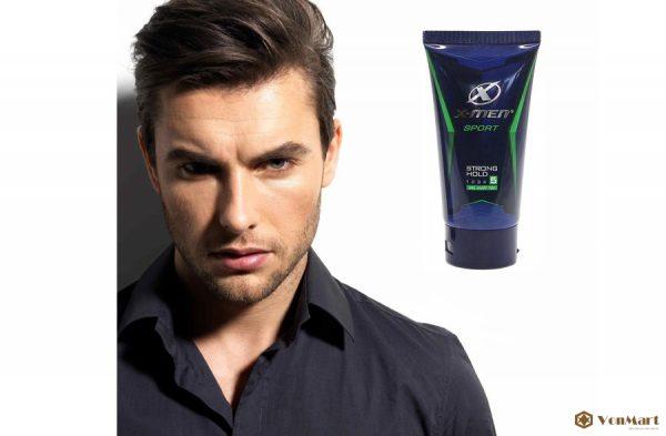 Gel Sport X-men, tạo kiểu tóc bóng mượt, hương thơm nam tính