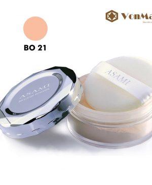 Asami BB Loose Powder BO21, Phấn phủ dạng bột, tông da tự nhiên, kiềm dầu, trắng da