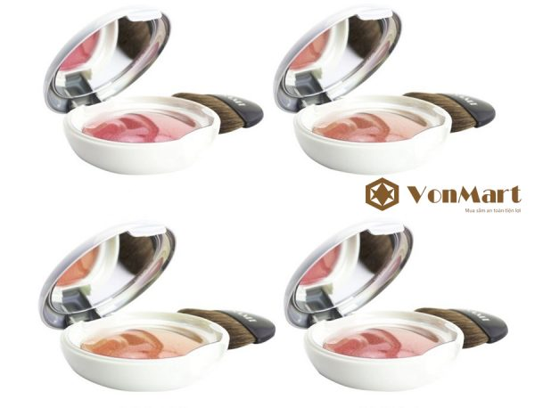 Asami Creamy Blusher, Phấn má hồng dạng kem, mịn màng, dưỡng ẩm, đôi má thêm ửng hồng