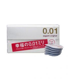 Bao cao su Sagami Original 0.01 - Chính hãng, giá rẻ, mua, bán ở đâu