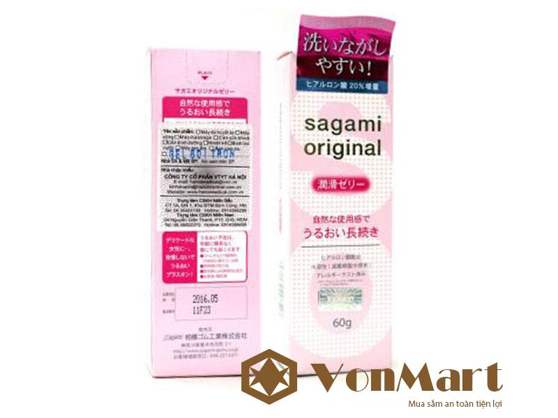 Gel Sagami Original gel bôi trơn Nhật Bản
