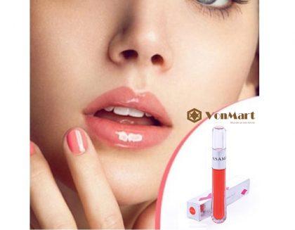 Son môi Lip Gloss Asami, son bóng dưỡng ẩm, bền màu, tông màu tự nhiên, tươi trẻ