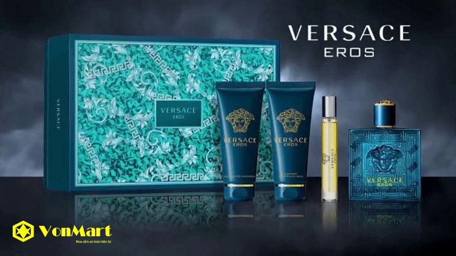 Kem Dưỡng Sau Cạo Râu Versace Eros, Versace after shave balm pour homme, Nam tính