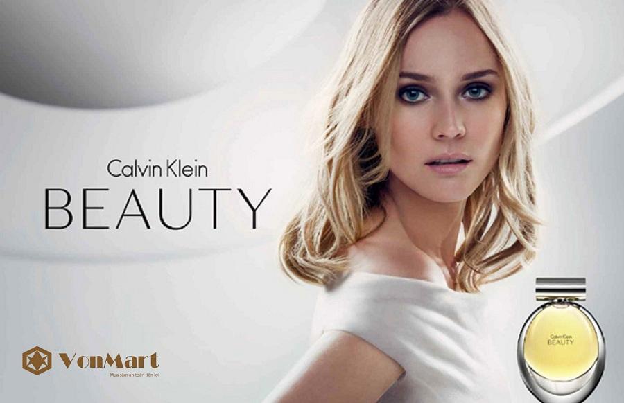 Nước Hoa Nữ Calvin Klein Beauty Eau De Parfum 50ml, Nữ tính, thơm lâu, sang trọng