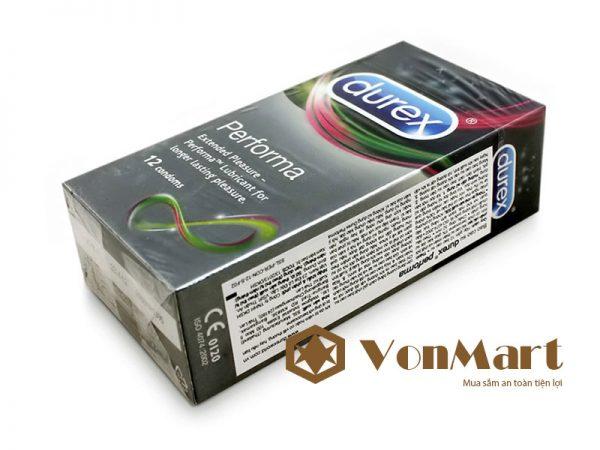 Condom Durex Performa chống xuất tinh sớm