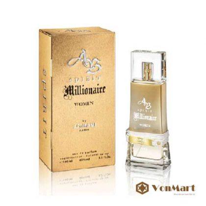 Nước hoa Lomani AB Spirit Nữ, hương hoa cỏ quyến rũ gợi cảm, thơm lâu nhất, nước hoa Pháp