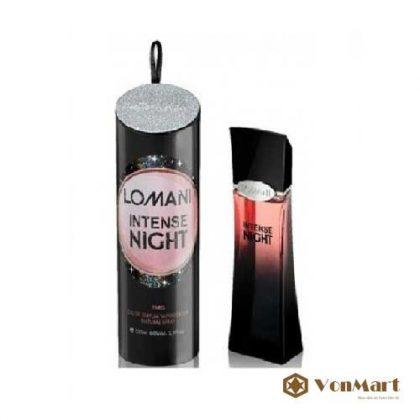 Nước Hoa Night, Lomani Intense Night, Nước hoa Nữ, Nước hoa Pháp, ban đêm, lưu hương lâu