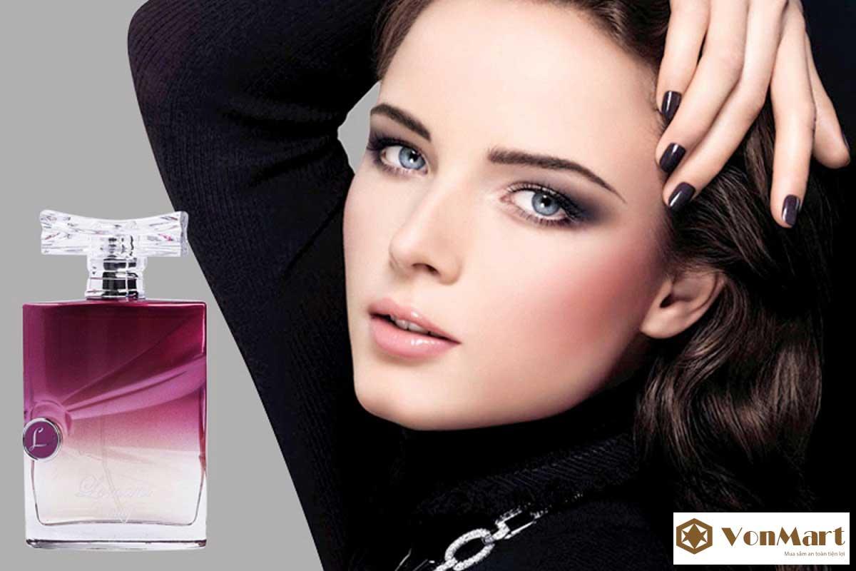 Nước hoa Lomani Trendy, Nước hoa nữ Pháp cao cấp, thơm lâu, Nữ tính, nhẹ nhàng quyến rũ