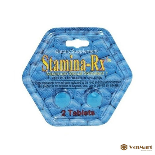 stamina rx for men hỗ trợ điều trị yếu sinh lý