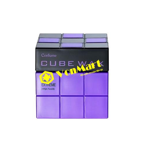Sáp vuốt tóc Cube Wax Wild Extreme, tạo kiểu siêu cứng, mịn đặc và khô