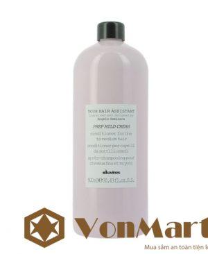 Davines Prep Mild Cream 900ml dầu xả làm dày tóc