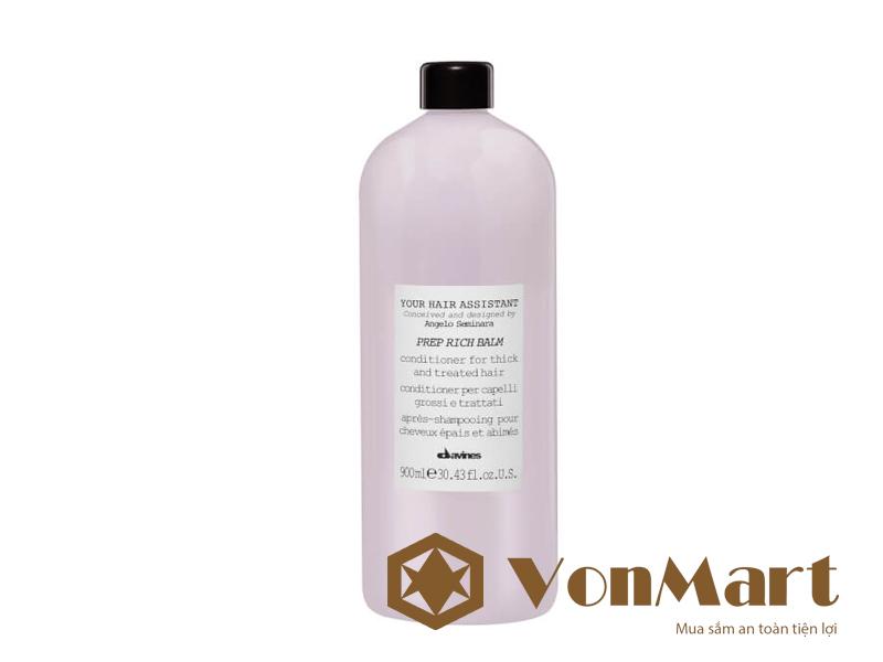 Davines Prep Rich Balm dầu xả dưỡng tóc 900ml