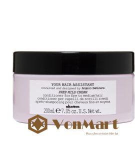 Dầu xả dành cho tóc mỏng Davines Prep Mild Cream 200ml