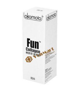Gel bôi trơn Okamoto Fun Collagen Nhật Bản, cao cấp chính hãng giá rẻ
