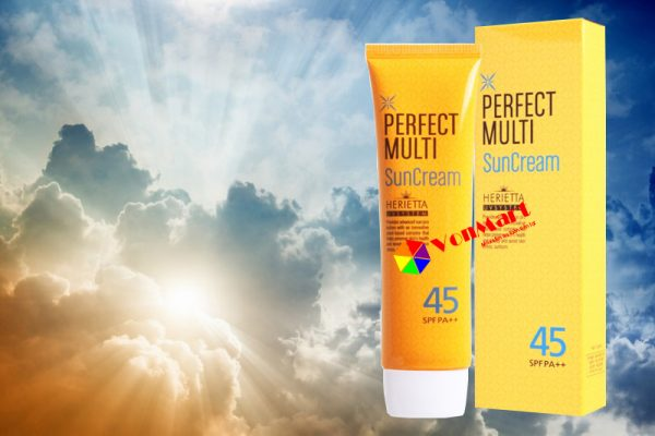 Kem chống nắng dạng kem lót, đa năng tự nhiên, thích hợp với mọi loại da
