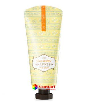 Kem dưỡng da tay Bơ hạt mỡ Around me Happiness Hand Cream Shea Butter, dành cho Nam Nữ