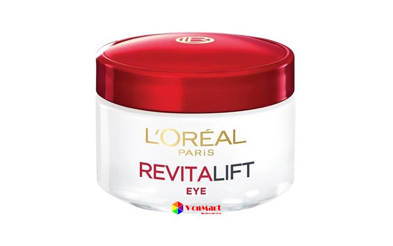 Kem dưỡng mắt L'oreal Revitalift, kích thích tái tạo tế bào da mới làm tăng độ đàn hồi