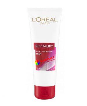 Sữa rửa mặt L'oreal Revitalift Bright Reveal, loại bỏ triệt để bụi bẩn, bã nhờn và lớp trang điểm