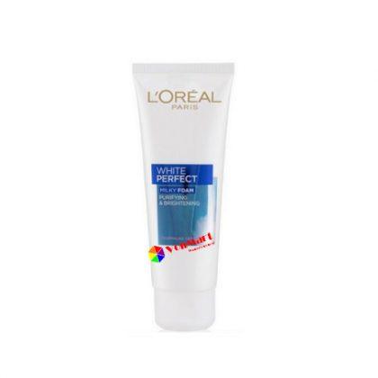 Sữa rửa mặt L'oreal White Perfect, nuôi dưỡng, chăm sóc da trắng sáng