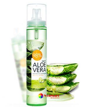 Xịt khoáng lô hội Aloevera, hàng cao cấp chính hãng giá rẻ