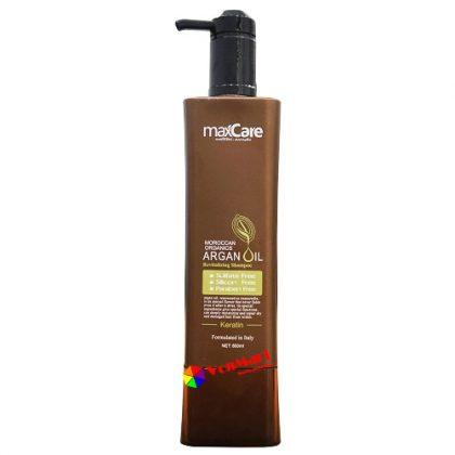 Dầu gội MaxCare, chiết xuất chủ yếu từ tinh dầu quả Argan cung cấp độ ẩm