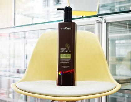 Dầu gội MaxCare Argan Oil Revitalizing Shampoo 800ml, mượt mà, giữ màu