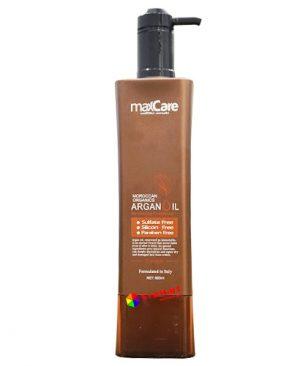 Dầu xả MaxCare Argan 800ml, cung cấp độ ẩm, tái tạo và phục hồi bóng khỏe