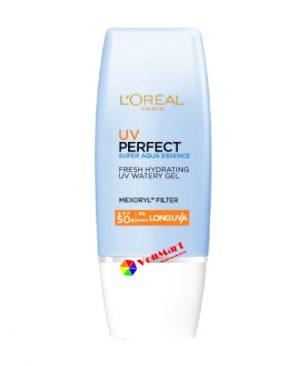 Kem chống nắng L'Oreal UV Perfect 30ml, dưỡng da sáng trong và mịn màng, mang đến cho làn da vẻ tươi trẻ rực rỡ