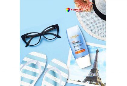 Kem chống nắng L'Oreal UV Perfect Aqua Essence, ngăn ngừa thâm nám