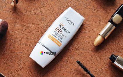 Kem chống nắng L'Oreal UV Perfect BB Max, trang điểm che khuyết điểm