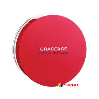 Phấn bột chống nắng Graceage, chất chống nắng cực mạnh SPF50+ PA++++ bảo vệ da hoàn hảo