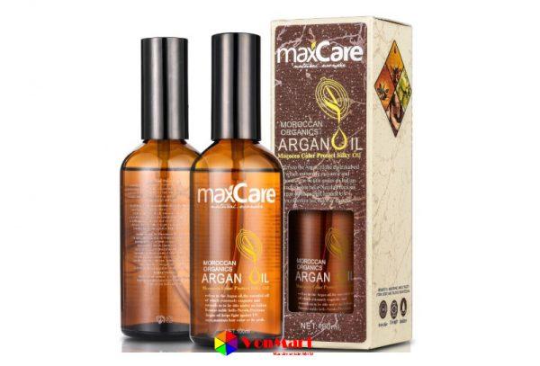 Tinh dầu dưỡng tóc Maxcare Argan Oil, nuôi dưỡng khỏe, tái tạo hư tổn