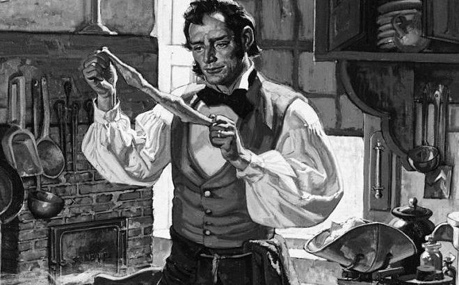 Charles Goodyear, người phát minh ra bao cao su bằng cao su tự nhiên. Ảnh: Esquire